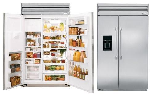 Холодильник ZSEP480DYSS изнутри и снаружи