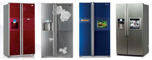 Холодильники LG. Каталог LG.